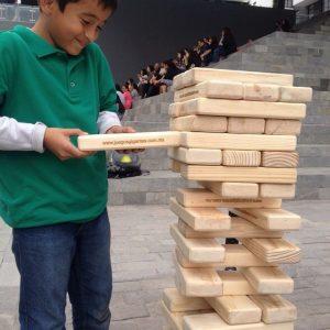 Torre Gigante De Madera Jenga Gigante Juegos Gigantes