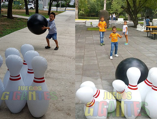 Boliche Inflable Juegos Gigantes